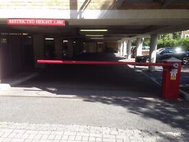 Secure, dedicated parking 5 mins walk from Walton on Thames station