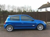 Renault Clio 172 CUP Blue 2003 (53) Aircon, Coilovers, 3 Owners.
