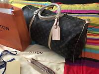 LV keepall 50 leather