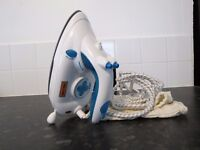 Brand New travel iron with bag.