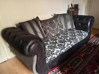 SOFA SET 3 SEATER AND 2 SEATER... £350!!!