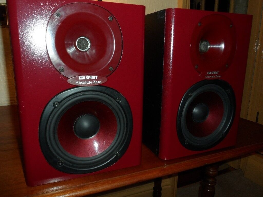 SPIRIT Absolute Zero Monitor Speakers