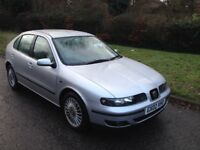 SEAT LEON CUPRA 1.8 20V TURBO 2002 180 BHP SERVICE HISTORY 2 OWNERS FROM NEW MOT AUGUST 2018