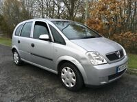 Vauxhall Meriva 1.6 i 16v Enjoy 5dr (a/c)*** Long MOT***
