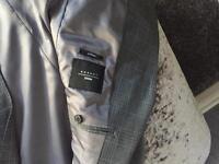 Moss Bros grey suit