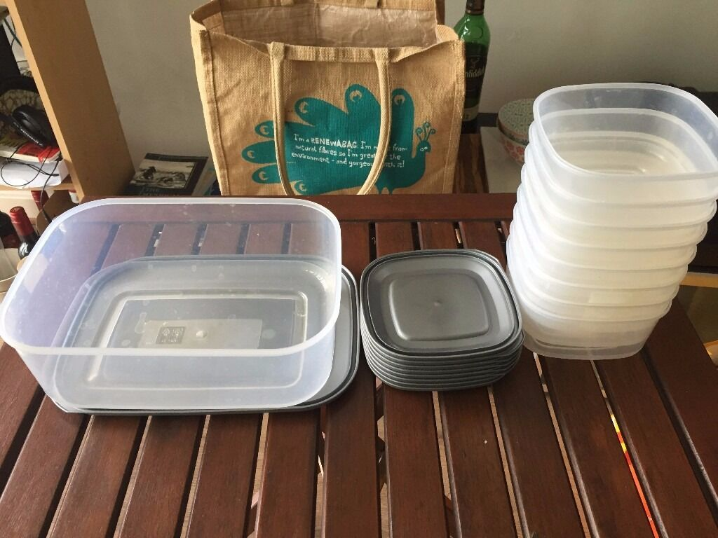 Asda 3L 05L set of food containers in Tower Hamlets London