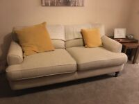 Sofa hardly used new in april