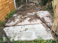 Gravel board for sale plain faced 6 in total. £1 each, buyer collects.