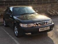SAAB 9-3 2.0 TURBO. * 16 SERVICE STAMPS * LONG MOT