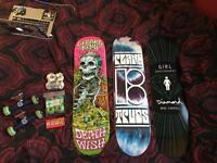 Skateboard stuff loads for sale quick sale please