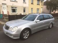 Mercedes Benz E Class 2003 year diesel - Parts Available - Engine - gearbox