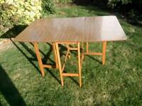 Retro folding kitchen table (free delivery)