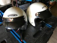 Motorcycle Helmetsx2