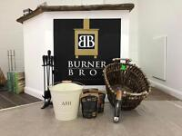Log Burners multi fuel stoves new showroom