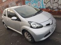 Toyota Aygo+, 1.4 diesel , manual, 5 speed, 3 door hatchback, 2006 in silver