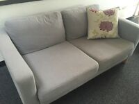 Comfy grey sofa - Collect from Borough
