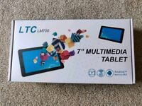 """LTC 7"""" Multimedia Tablet Brand New 16gb Android"""