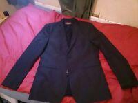 Black suit jacket by Zara man
