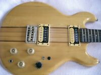 Kay thru' neck electric guitar - Japan - High end model - '80s - Rosewood 'board