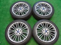 "FORD FOCUS ST, GALAXY, MONDEO, C-MAX, S-MAX, TRANSIT CONNECT 18"" ALLOY WHEELS"