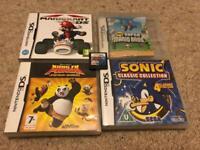 5 Classic Nintendo DS Games (Mario + Sonic)