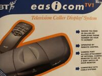 BT EASiCOM TV CALLER DISPLAY SYSTEM (Brand New & Boxed)