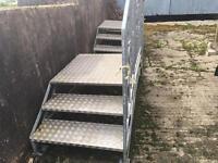 Galvanised Caravan / Mobile Home Steps