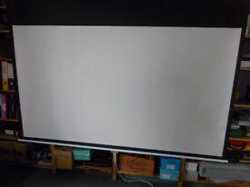Celexon manual screen viewing area 240cm x 135cm