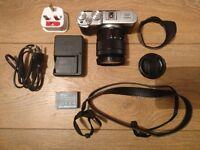 Fujifilm X-M1 Mirrorless Digital Camera - With Lens