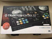 Native Instruments Traktor Kontrol S2 MK2 DJ Controller with Traktor download code