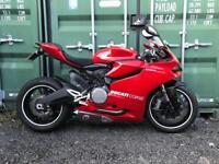 2014 Ducati 899 panigale cheap export cat B swap px van Track Race bike