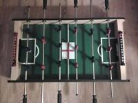 Football table with removable legs