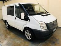 2011 Ford transit 2.2 t260 fwd in immaculate condition 6 seater conversion mot till December 18