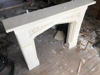 Mable fire surround