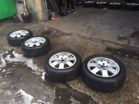 SET OF FORD MONDEO WHEELS & TYRES 16""