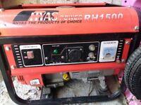 HYAS 1500W petrol generator