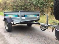 Camel Trailer SWTT85 Camping Carboot Fishing Tip Garden Trailor 5x3 Halfords
