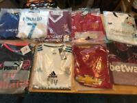 2017/18 football shirts