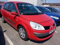 Renault Grand Scenic diesel in red. 7 Seater 2007