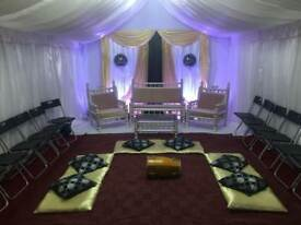 ***Marquee Hire*** Wedding/Mehndi stages, chocolate fountain