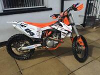 2014 KTM 450 SXF EFI Factory Edition MX Bike