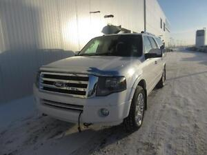 2013 Ford Expedition EL Limited 4x4 SUV with 8 Passenger Seating