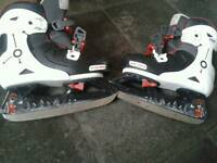 REDUCED Ice skates hockey size 1-4 kids