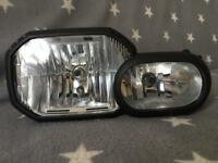 BMW F800GS headlamp excelent condition