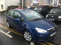 57 plate new shape Ford C-Max 1.6 Zetec, new mot