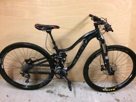 Trek Lush 29er full suspension mountain bike