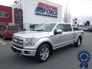2015 Ford F-150 Platinum, 6.5 Ft Box, Backup Camera, 20,605 KMs