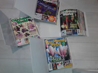 GARDENERS WORKD MAGAZINES OLD FASHIONED 1990S