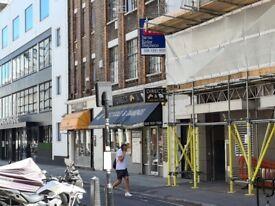 SHOP/CAFE IN HATTON GARDEN, LONDON EC1N 8TS - 1325 SQ FT, 5 MINS FROM FARRINGDON STATION