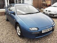 mazda 323 1.5 auto 1999 (FULL MOT)(LOW MILEAGE)